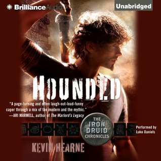 #OctobeRec Fest Review #2 ~ Hounded ~ Kevin Hearne