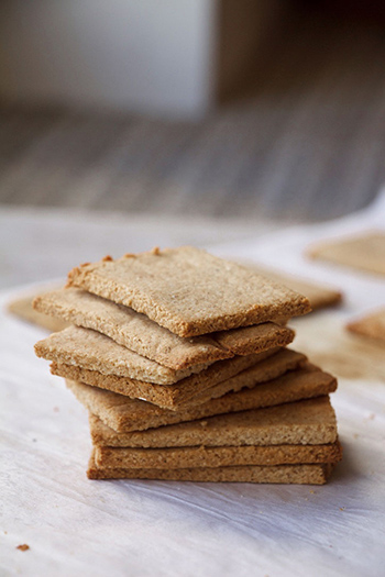 Fall-Inspired Graham Crackers (GF, Paleo, Dairy-Free, Refined Sugar Free)