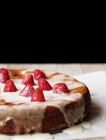 Raspberry Orange Almond Cake (Paleo, Gluten Free, Dairy Free, Oil Free)