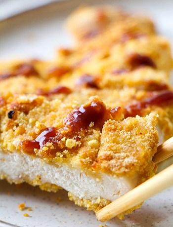 30-Minute Japanese Chicken Katsu Sheet Pan (GF, Oil-Free)