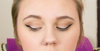 pin up liner eyes closed