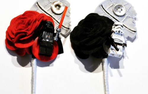 For Blog Charlotte Lauire - Star wars inspired button holes