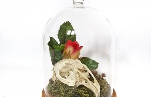 Ossaflores 1 - alternative wedding table centrepieces