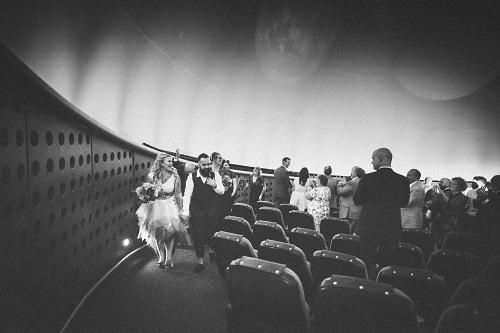 National Space Centre 5 - planetarium wedding - stars - alternative wedding venue - unique wedding ceremony - leicester wedding venue