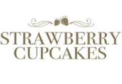Strawberry cupcakes logo