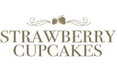 Strawberry cupcakes logo
