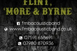 Flint, 'More and Byrne Acoustic band - logo