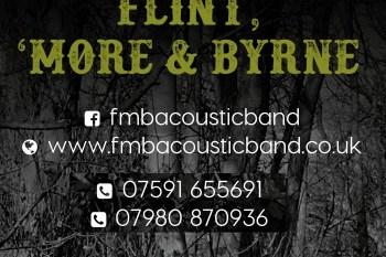 Flint, 'More and Byrne Acoustic band - logo