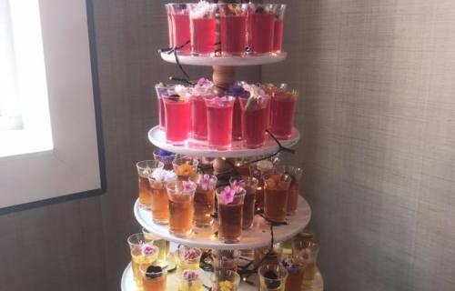 Strawberry Cupcakes - Jelly wedding cake