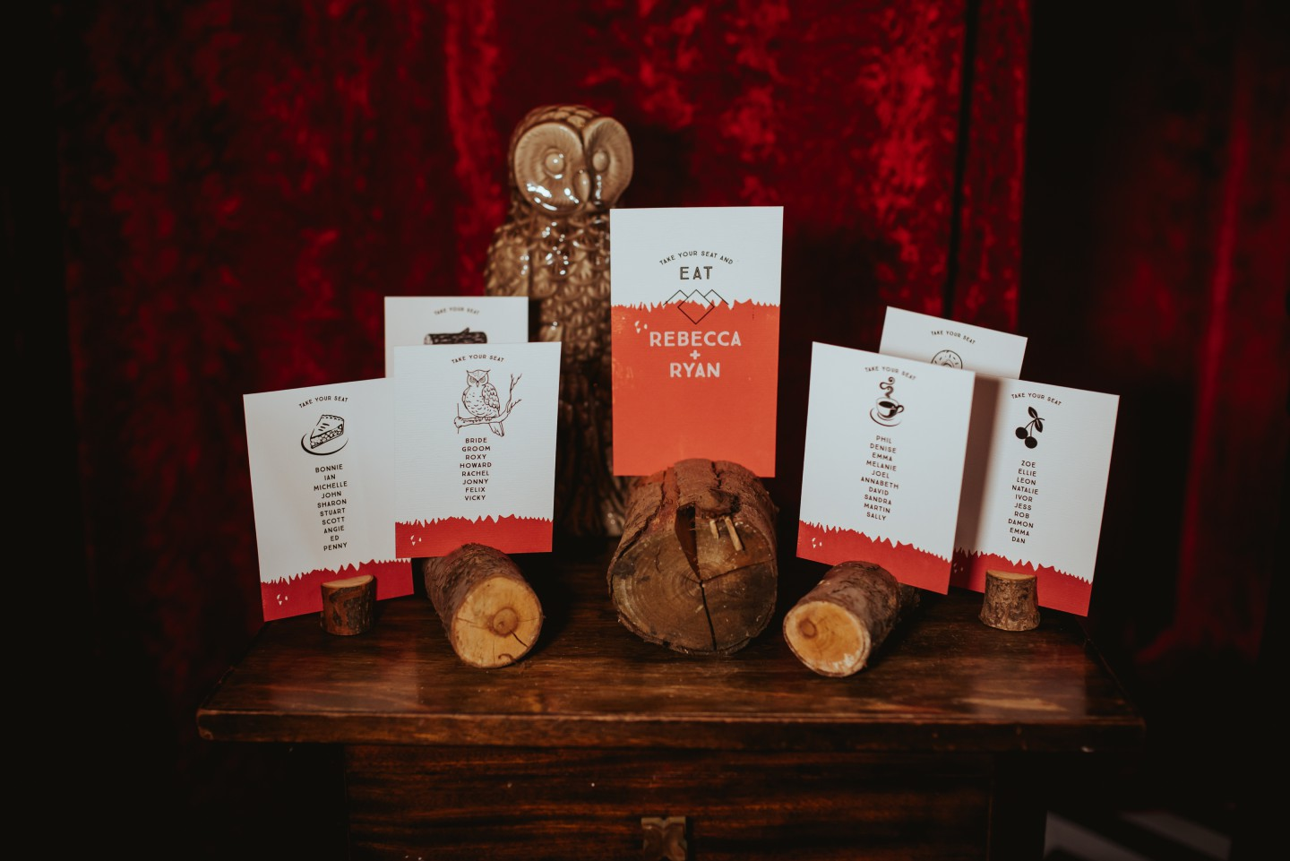A Twin Peaks Wedding Styled Shoot - alternative - unconventional - wedding stationery
