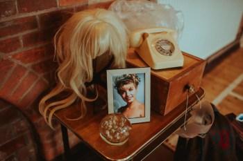 A Twin Peaks Wedding Styled Shoot - alternative - unconventional - laura palmer - wig