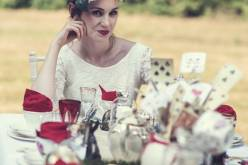 Alice in Wonderland wedding inspiration - mad hatters tea party - alternative and unconventional wedding