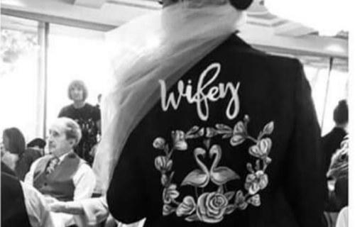 Sammy Lea's Retro Emporium - wifey jacket