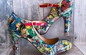 From The Spectrum - Marvel Shoes