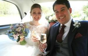 White taxi weddings - alternative wedding 1
