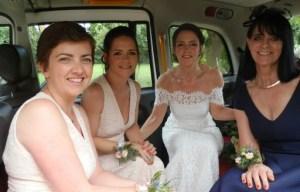 White taxi weddings - alternative wedding 2