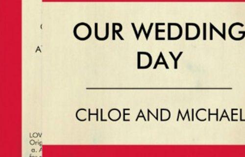 Ochre Electic - Wedding Stationery 5