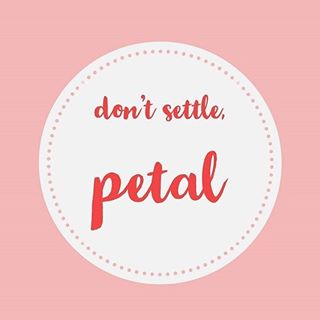 dont settle petal logo