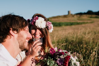 Caroline Goosey - alternative wedding photography - engagement shoot 10