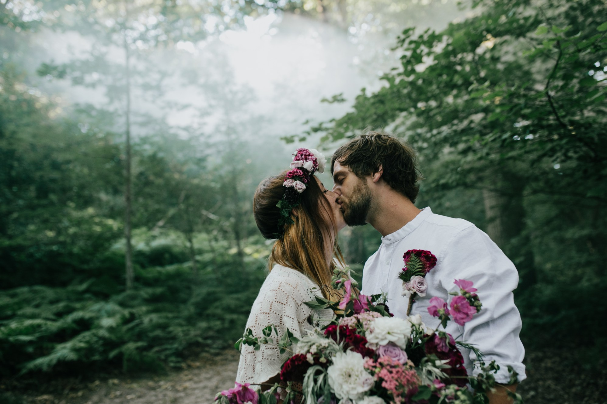Caroline Goosey - alternative wedding photography - engagement shoot 2