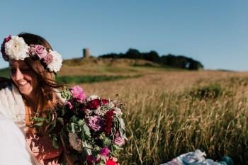 Caroline Goosey - alternative wedding photography - engagement shoot 22