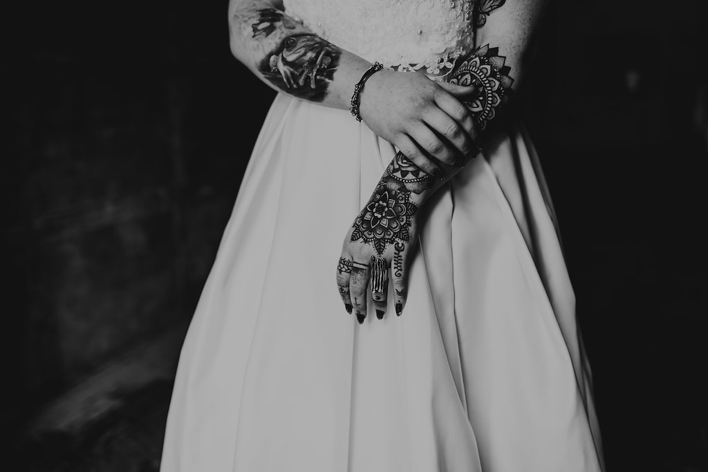 B - Chloe Mary Photography - Babes with the Power wedding - Rebel Rebel - Alternative wedding - Gothic wedding 70
