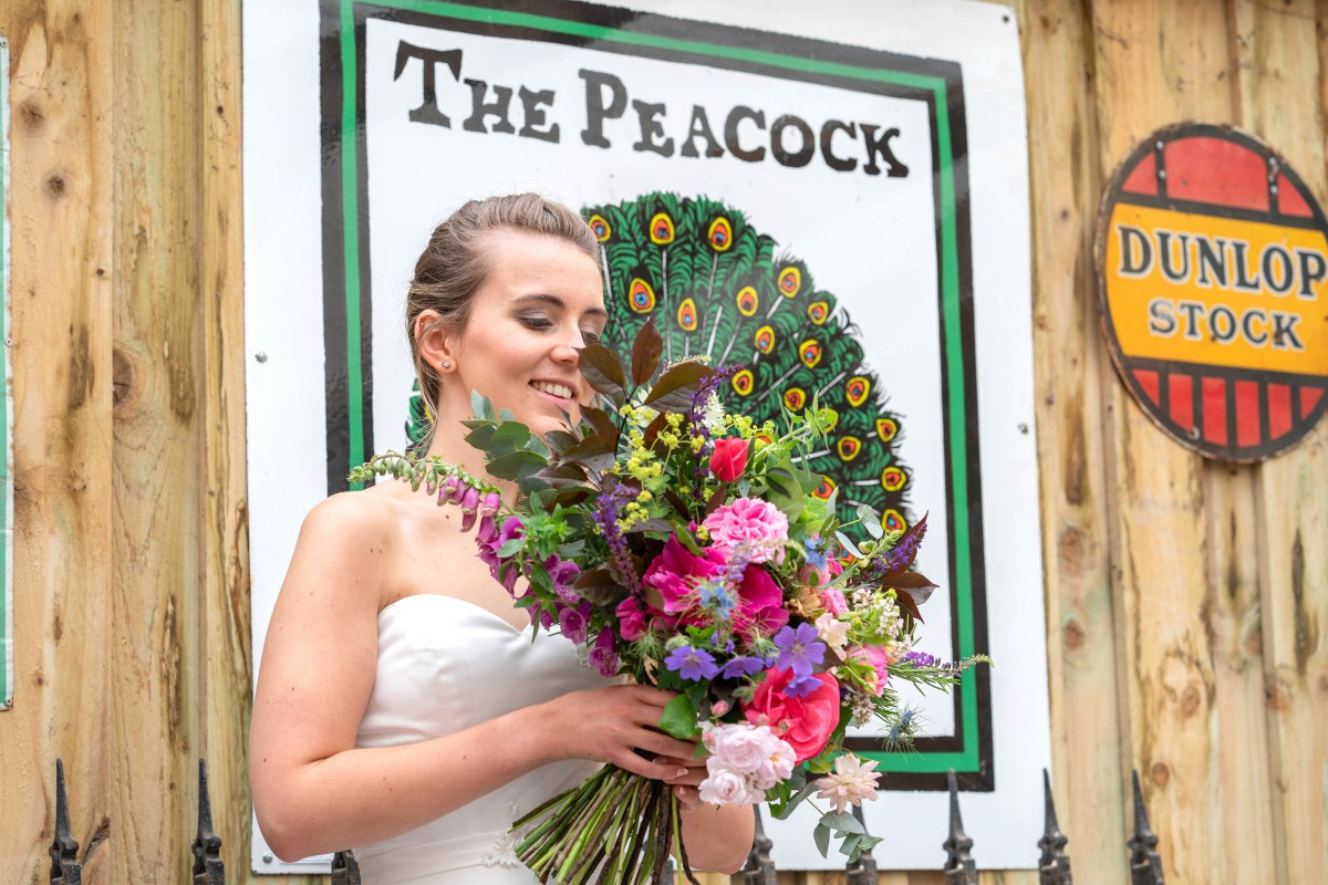 Bridal Reloved Street - Reclamation Yard Wedding Styled Shoot - Photos by Jim - 49