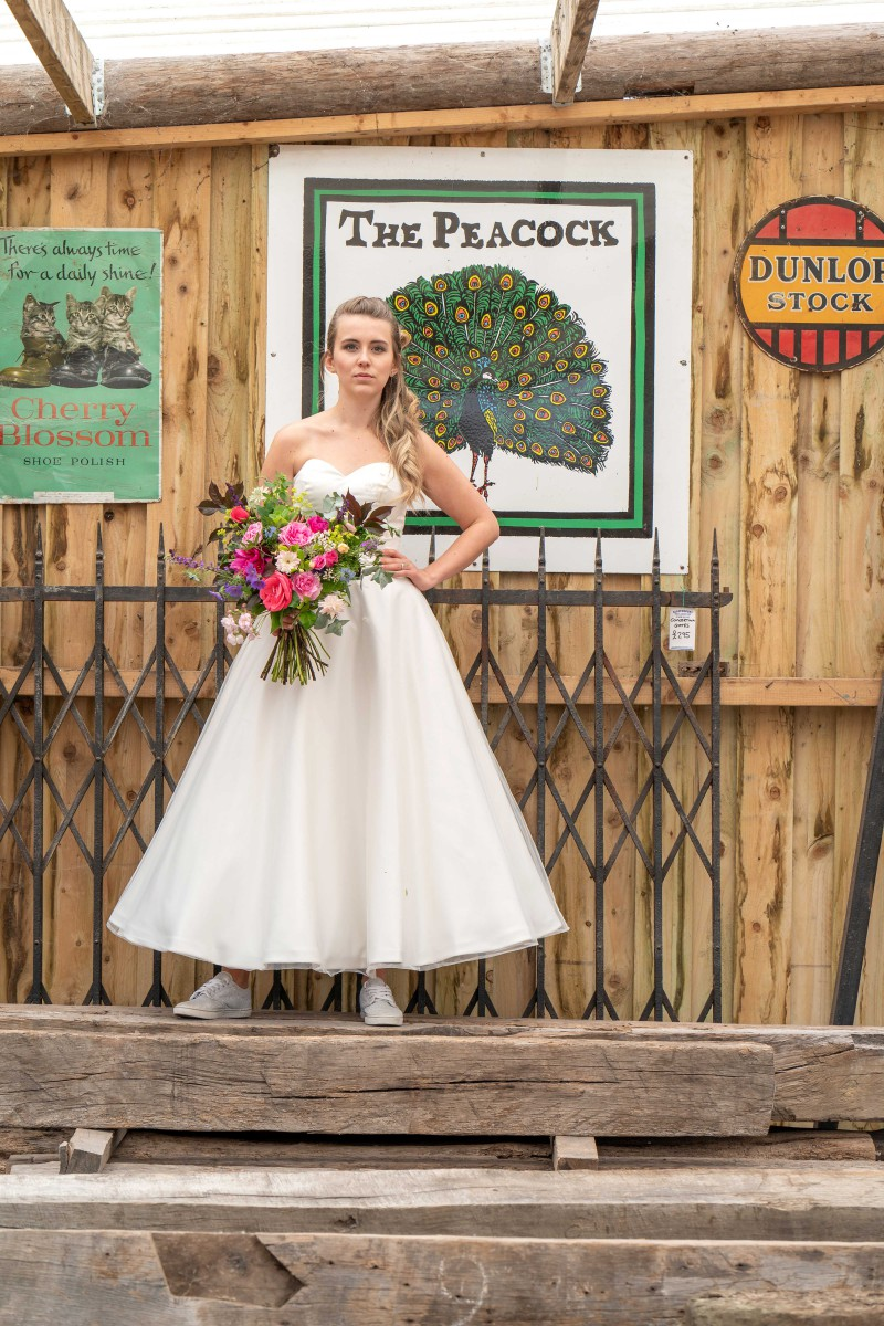 Bridal Reloved Street - Reclamation Yard Wedding Styled Shoot - Photos by Jim - 60
