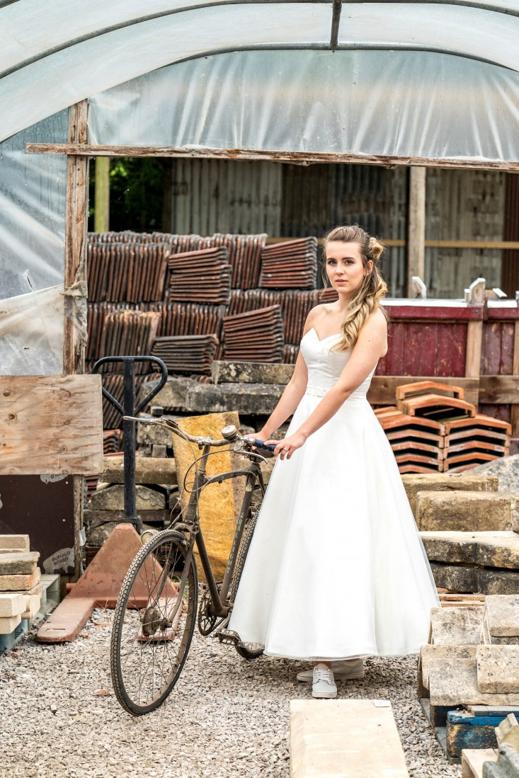 Bridal Reloved Street - Reclamation Yard Wedding Styled Shoot - Photos by Jim - 62