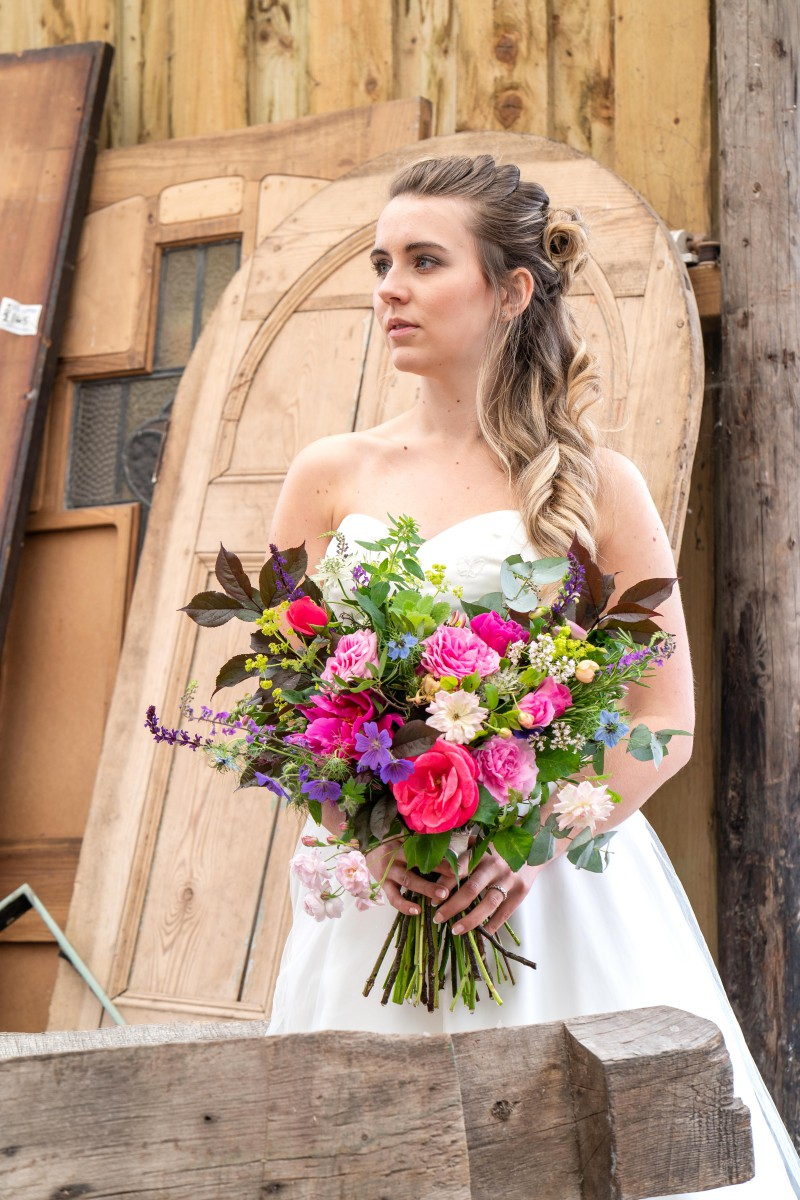Bridal Reloved Street - Reclamation Yard Wedding Styled Shoot - Photos by Jim - 65