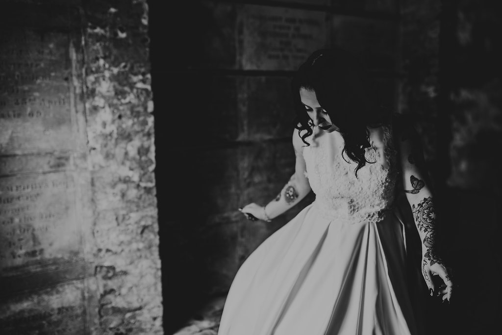 Chloe Mary Photography - Babes with the Power wedding - Rebel Rebel - Alternative wedding - Gothic wedding 52