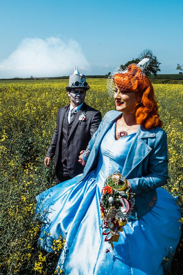 My Pretties - Dorothy - Wizard of Oz wedding styled shoot - Kieran Paul Photography 28