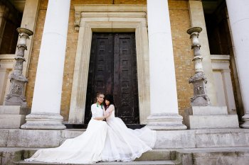 Rock the Purple Love - Gido Weddings - The Asylum Chapel - alternative wedding inspiration 102 - urban modern wedding