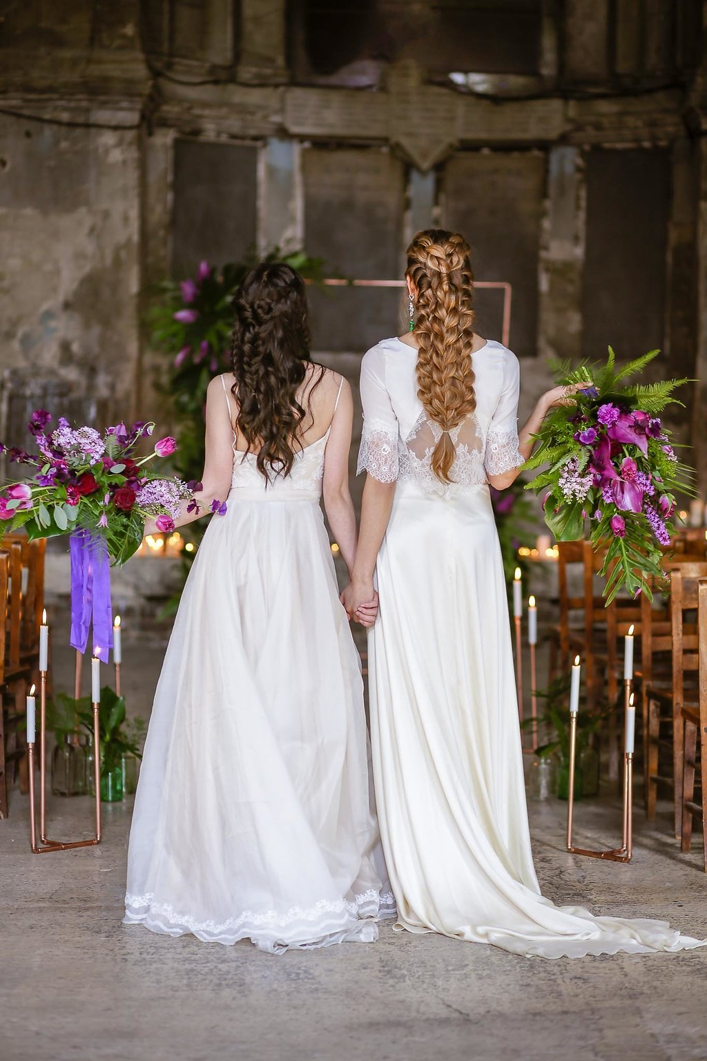 Rock the Purple Love - Gido Weddings - The Asylum Chapel - alternative wedding inspiration 116 - Rock the Purple Love - Gido Weddings - The Asylum Chapel - alternative wedding inspiration 117 - Urban, modern wedding