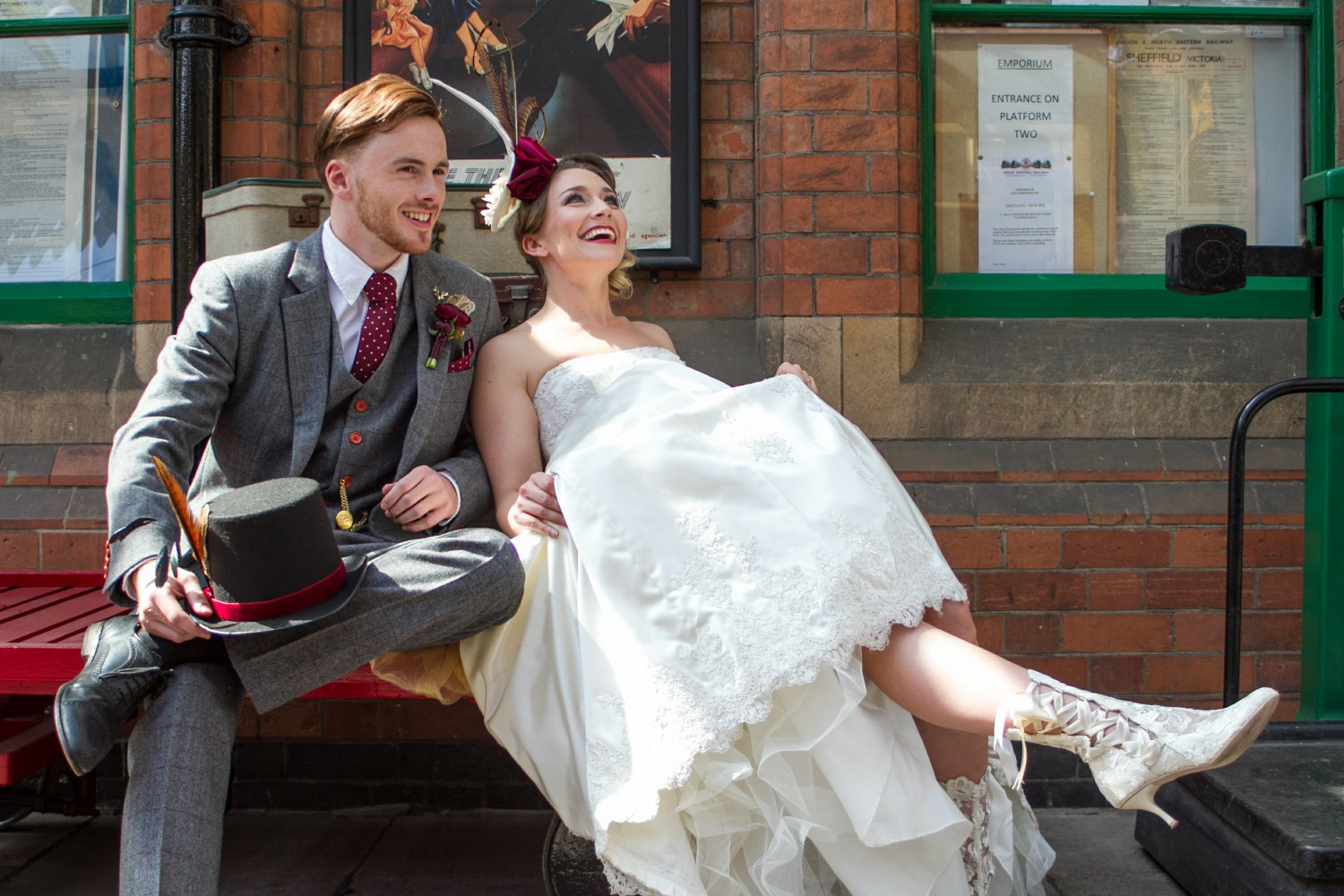 Iso Elegant Photography - Leicester wedding network - Railway wedding - vintage wedding 16
