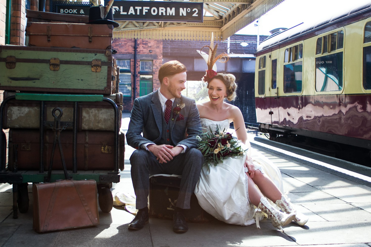 Iso Elegant Photography - Leicester wedding network - Railway wedding - vintage wedding 19