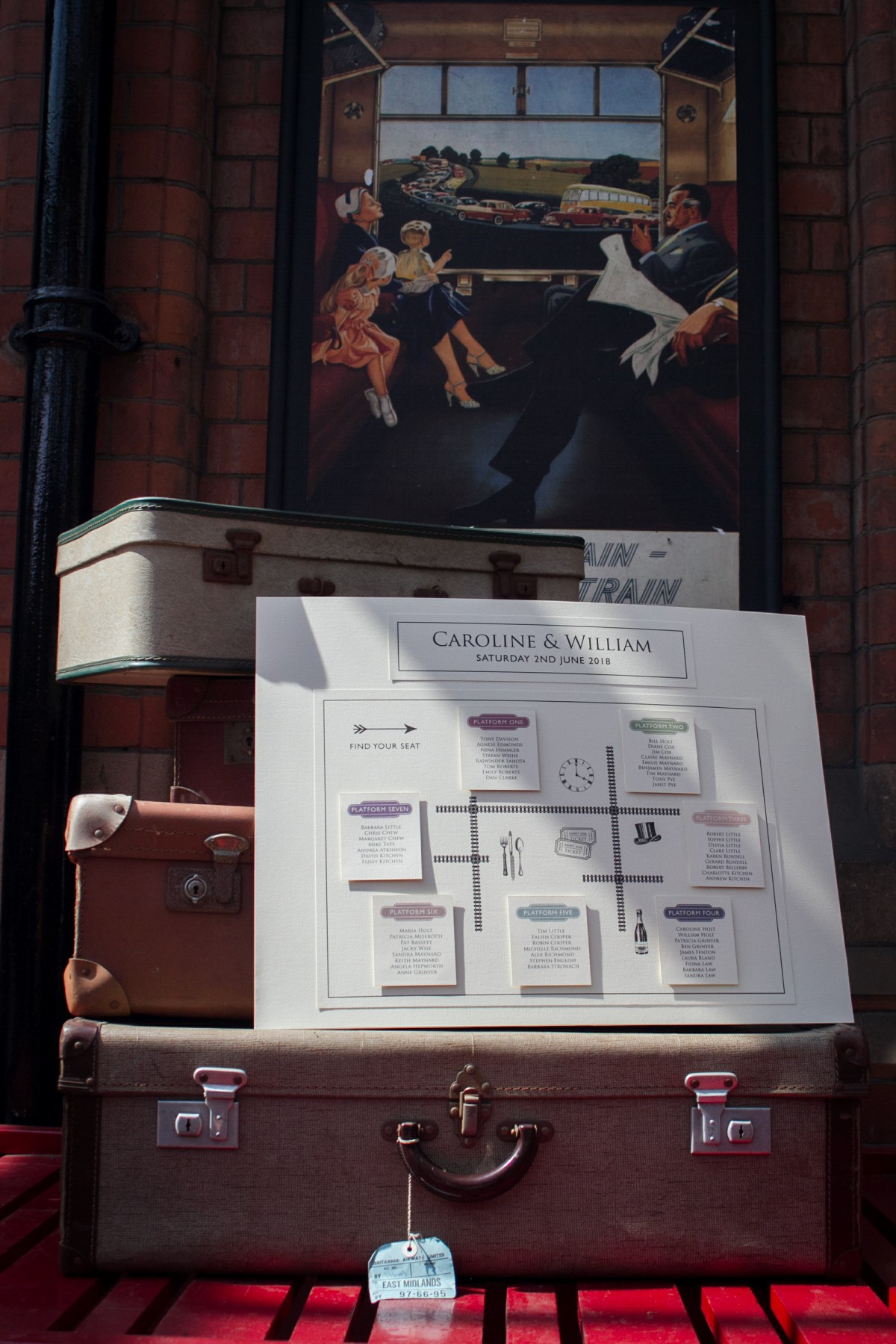 Iso Elegant Photography - Leicester wedding network - Railway wedding - vintage wedding 29