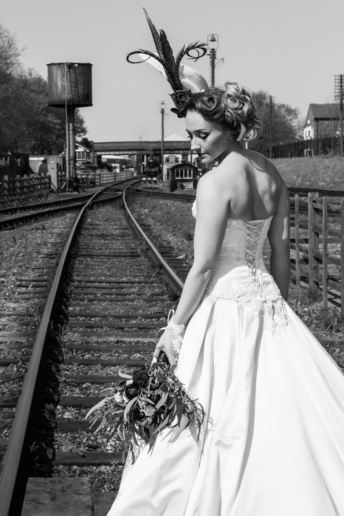 Iso Elegant Photography - Leicester wedding network - Railway wedding - vintage wedding 34