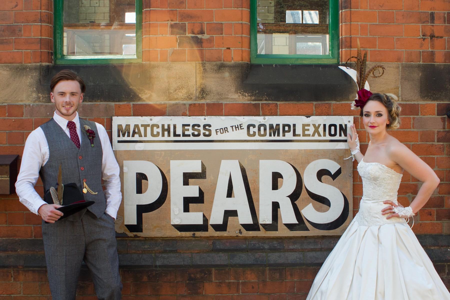 Iso Elegant Photography - Leicester wedding network - Railway wedding - vintage wedding 38