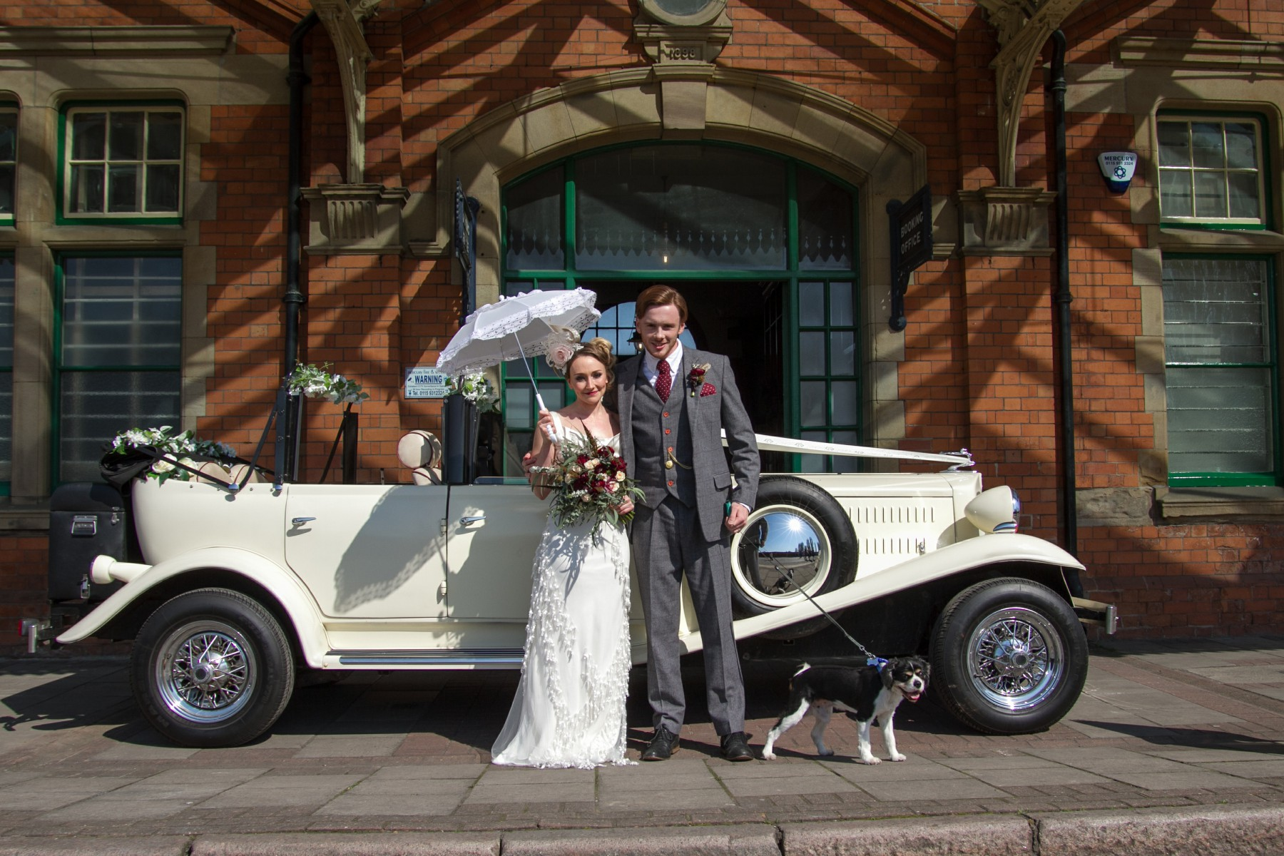 Iso Elegant Photography - Leicester wedding network - Railway wedding - vintage wedding 40