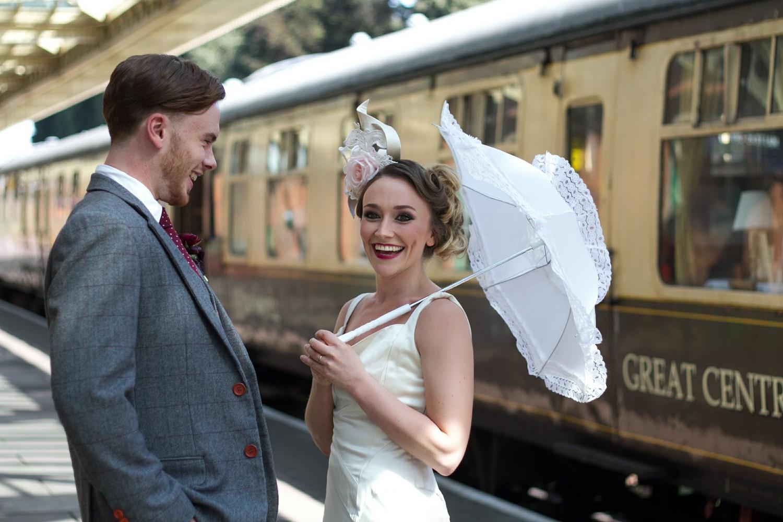Iso Elegant Photography - Leicester wedding network - Railway wedding - vintage wedding 6