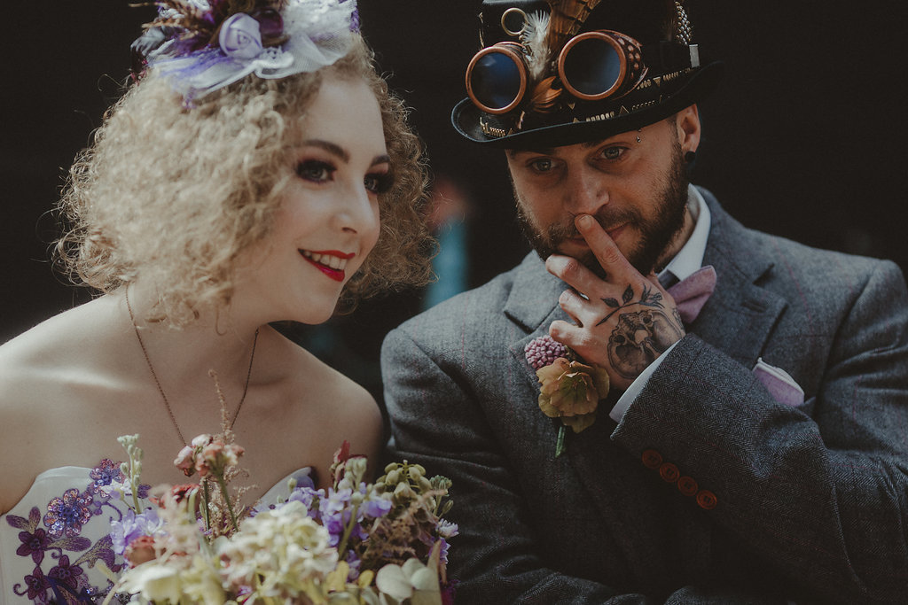 Studio Fotografico Bacci - Steampunk wedding - alternative wedding 28