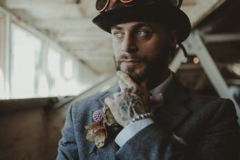 Studio Fotografico Bacci - Steampunk wedding - alternative wedding 33