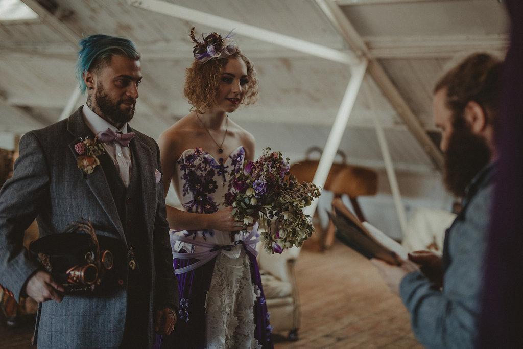 Studio Fotografico Bacci - Steampunk wedding - alternative wedding 76