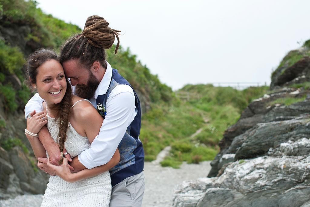 Nathan Walker Photography - Beach Wedding - Cornwall Wedding - Alternative wedding 1 (2)