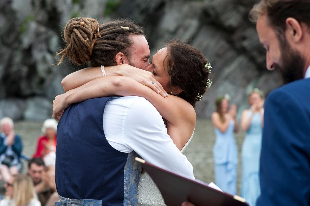 Nathan Walker Photography - Beach Wedding - Cornwall Wedding - Alternative wedding 17
