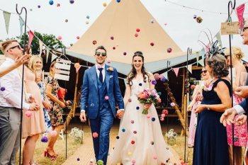 Leicester wedding fair - alternative wedding fair - the unconventional wedding festival - peak tipis photo- tipi wedding