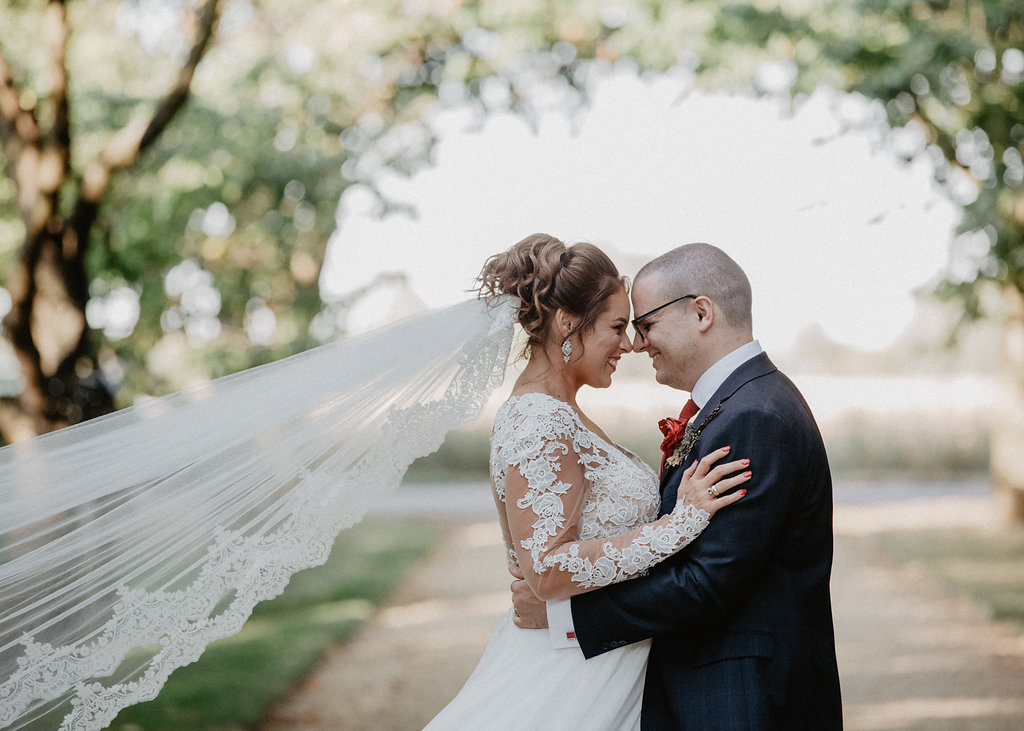 EmilyandGeoff- Nick Shea Photography- Circus Wedding couple