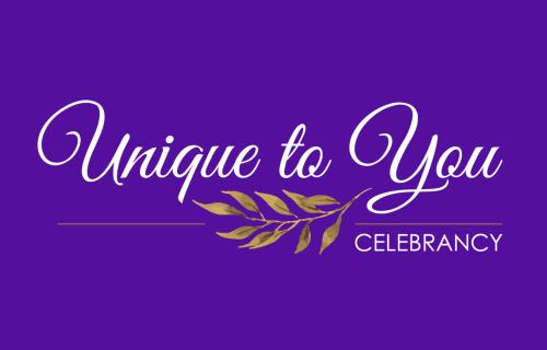 Unique to you celebrant - alternative wedding - alternative wedding ceremony - logo