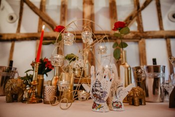 EmilyandGeoff-Nicki Shea Photography- Circus Wedding- table decoration